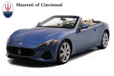 2018 Maserati Gran Turismo Sport 2018 Maserati GranTurismo Convertible Sport 14396 Miles Blu Sofisticato Metallic