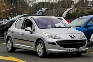 2008 Peugeot 207 A7 XR Silver 4 Speed Sports Automatic Hatchback Ringwood East Maroondah Area Preview