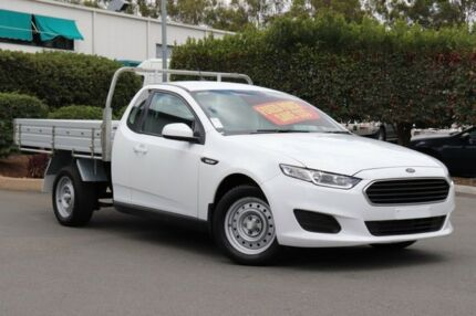 2016 Ford Falcon FG X Super Cab Winter White 6 Speed Sports Automatic Cab Chassis Acacia Ridge Brisbane South West Preview