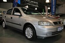 2001 Holden Astra TS City Silver 4 Speed Automatic Hatchback Victoria Park Victoria Park Area Preview