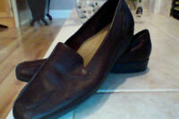 BROWN LEATHER SHOES **NEW SZ 11