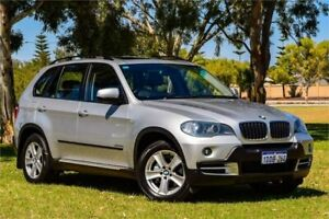2009 BMW X5 E70 MY09 xDrive30i Silver Sports Automatic Wagon Greenfields Mandurah Area Preview