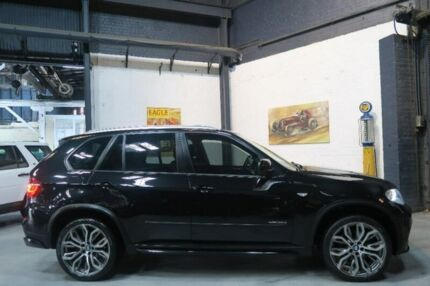 2012 BMW X5 E70 MY12.5 xDrive30d Steptronic Black 8 Speed Sports Automatic Wagon Port Melbourne Port Phillip Preview