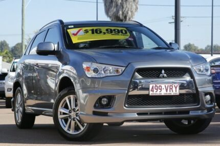 2011 Mitsubishi ASX XA MY12 30th Anniversary 2WD Grey 6 Speed Constant Variable Wagon Moorooka Brisbane South West Preview