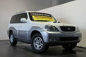 2006 Hyundai Terracan CRDi White 4 Speed Automatic Wagon Underwood Logan Area Preview
