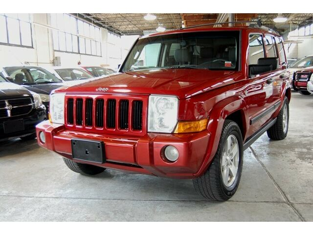 Jeep: Commander 4dr 2006 jeep commander 4.7 l v 8 navigation 3 rd row