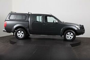 2009 Nissan Navara D40 ST-X (4x4) Grey 5 Speed Automatic Dual Cab Pick-up McGraths Hill Hawkesbury Area Preview