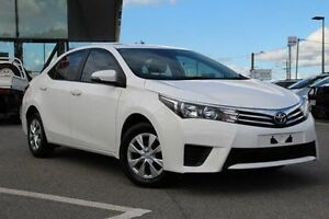 2015 Toyota Corolla White Constant Variable Sedan St James Victoria Park Area Preview