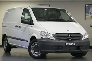 2014 Mercedes-Benz Vito 639 MY14 113CDI Crew Cab White 5 Speed Automatic Van North Willoughby Willoughby Area Preview