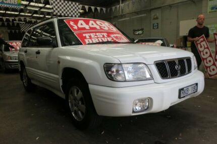 2002 Subaru Forester MY02 Limited 5 Speed Manual Wagon Mordialloc Kingston Area Preview