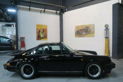 1981 Porsche 911 SC Black 5 Speed Manual Coupe Port Melbourne Port Phillip Preview