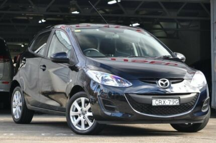 2013 Mazda 2 DE MY14 Neo Sport Black 4 Speed Automatic Hatchback Mosman Mosman Area Preview