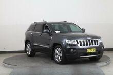 2013 Jeep Grand Cherokee WK MY13 Overland (4x4) Grey 5 Speed Automatic Wagon Smithfield Parramatta Area Preview