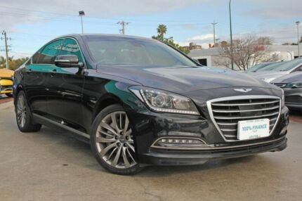2014 Hyundai Genesis DH (Ultimate Pack) Black 8 Speed Automatic Sedan Victoria Park Victoria Park Area Preview