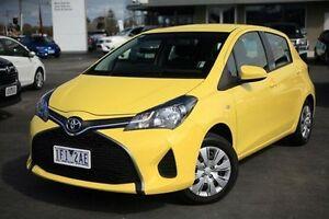 2015 Toyota Yaris Yellow Automatic Hatchback Frankston Frankston Area Preview