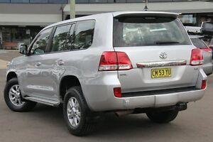 2010 Toyota Landcruiser VDJ200R MY10 GXL Silver Pearl 6 Speed Sports Automatic Wagon
