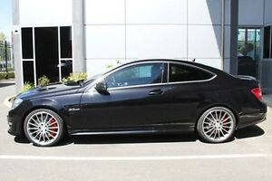 2012 Mercedes-Benz C63 C204 MY12 Black 7 Speed Sports Automatic Coupe Hilton West Torrens Area Preview