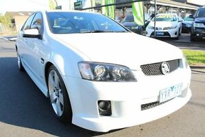 2010 Holden Commodore VE MY10 SS V White 6 Speed Sports Automatic Sedan West Footscray Maribyrnong Area Preview