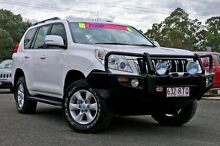 2011 Toyota Landcruiser Prado KDJ150R GXL White 6 Speed Manual Wagon Sinnamon Park Brisbane South West Preview