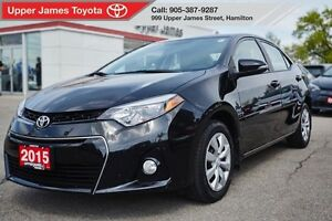 2015 Toyota Corolla S pkg - Sport model with all the extras!