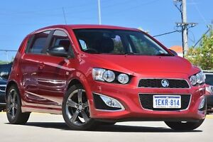 2014 Holden Barina TM MY14 RS Red 6 Speed Manual Hatchback Victoria Park Victoria Park Area Preview