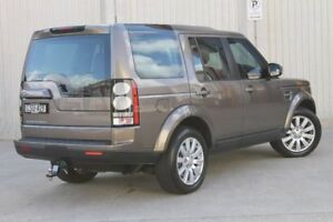 2014 Land Rover Discovery Series 4 L319 MY14 TDV6 Beige 8 Speed Sports Automatic Wagon