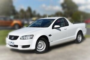 2011 Holden Ute VE II Omega White 6 Speed Sports Automatic Utility Berwick Casey Area Preview