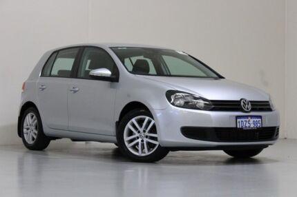 2012 Volkswagen Golf 1K MY12 103 TDI Comfortline Silver 6 Speed Direct Shift Hatchback