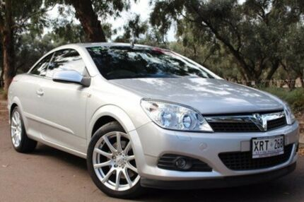 2007 Holden Astra AH MY07.5 Twin TOP Silver 6 Speed Manual Convertible Thebarton West Torrens Area Preview