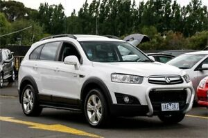 2013 Holden Captiva CG Series II MY12 7 AWD CX White 6 Speed Sports Automatic Wagon Ringwood East Maroondah Area Preview