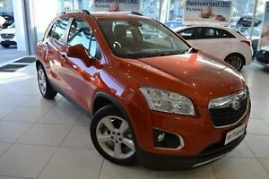 2016 Holden Trax TJ MY17 LTZ Orange 6 Speed Automatic Wagon Mill Park Whittlesea Area Preview
