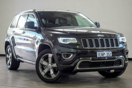 2014 Jeep Grand Cherokee WK MY2014 Overland Black 8 Speed Sports Automatic Wagon Myaree Melville Area Preview