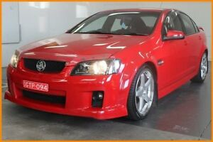 2008 Holden Commodore VE MY08 SV6 Red 5 Speed Automatic Sedan Blacktown Blacktown Area Preview