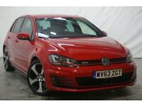 2013 Volkswagen Golf 2.0 GTI 5d 218 BHP Petrol red Manual