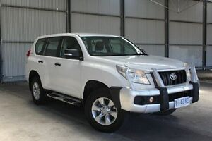 2011 Toyota Landcruiser Prado KDJ150R GX White 6 Speed Manual Wagon Invermay Launceston Area Preview