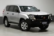 2013 Toyota Landcruiser Prado KDJ150R MY14 GX (4x4) Silver 6 Speed Manual Wagon Bentley Canning Area Preview