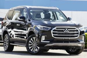 2018 LDV D90 SV9A Deluxe Black 6 Speed Sports Automatic Wagon Rocklea Brisbane South West Preview