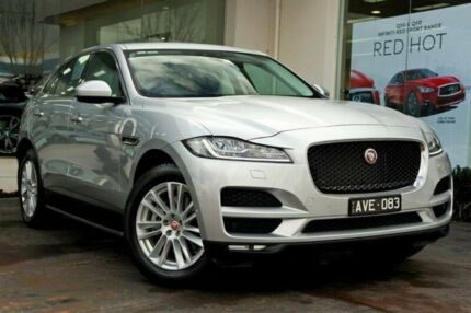 2016 Jaguar F-PACE X761 MY17 30d AWD Portfolio Silver 8 Speed Sports Automatic Wagon Doncaster Manningham Area Preview