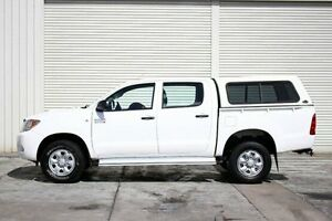 2008 Toyota Hilux KUN26R MY08 SR White 4 Speed Automatic Utility Seaford Frankston Area Preview