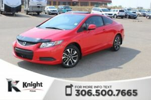 2013 Honda Civic Cpe LX **PST PAID SUNROOF**