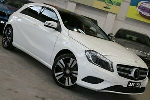 2013 Mercedes-Benz A200 W176 D-CT White 7 Speed Sports Automatic Dual Clutch Hatchback Southbank Melbourne City Preview