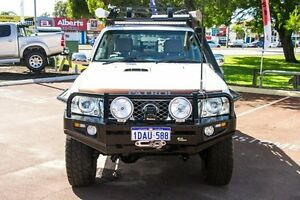 2009 Nissan Patrol GU 6 MY08 ST White 4 Speed Automatic Wagon Wilson Canning Area Preview