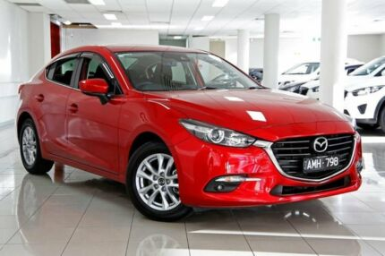 2016 Mazda 3 BM5278 Maxx SKYACTIV-Drive Soul Red 6 Speed Sports Automatic Sedan South Melbourne Port Phillip Preview