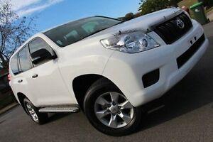 2013 Toyota Landcruiser Prado KDJ150R GX White 5 Speed Sports Automatic Wagon Nailsworth Prospect Area Preview