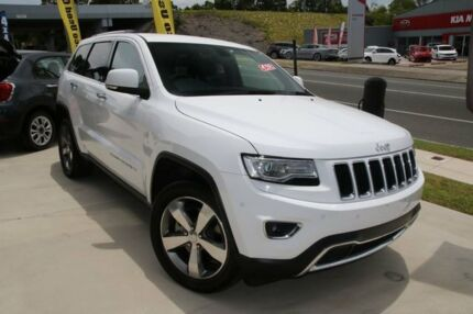 2015 Jeep Grand Cherokee WK MY15 Limited (4x4) White 8 Speed Automatic Wagon Buderim Maroochydore Area Preview