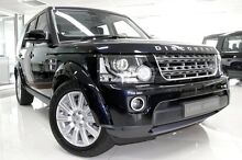 2015 Land Rover Discovery 4 Series 4 L319 MY15 TDV6 Mariana Black 8 Speed Sports Automatic Wagon Burwood Burwood Area Preview