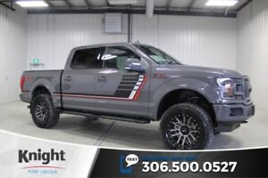 2018 Ford F-150 Lariat Sport Special Edition 4 Lift