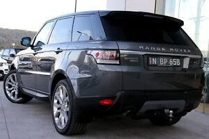 2013 Land Rover Range Rover Sport L494 MY14 V6SC CommandShift Corris Grey 6 Speed Sports Automatic West Gosford Gosford Area Preview