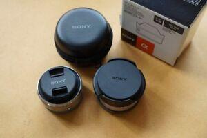 3 Sony lens pancake ultra wide and fisheye