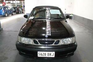 2002 Saab 9-3 MY03 Turbo 2.0T Black 4 Speed Automatic Convertible Pennington Charles Sturt Area Preview